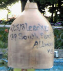 Albany Slip G.V.S. Bleecker 139 South Pearl St. Albany NY. Pottery Antique Jug.
