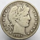 1903-O 50c - Barber Head Half Dollar - New Orleans - FINE 70783