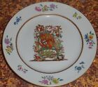 Mottahedeh Porcelain Armorial Plate Nelson Rockefeller Collection