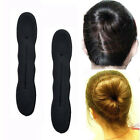 5 Pcs Magic Foam Sponge Hair Plate Donut Bun Maker Former Twist Tool Styling New
