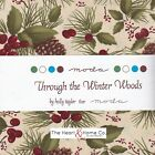 Through The Winter Woods by Holly Taylor * Moda Charm Pack * 5