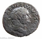*HHC* AUTHENTIC Roman coin, Vespasian AE As, Spes, Nice bust