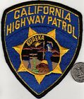 POLICE PATCH Police Departm CALIFORNIA HIGHWAY PATROL CHIPS Cloth Badge Sheild
