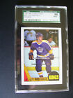 1987-88 o-pee-chee 42 luc robitaille rookie sgc graded 88 nm mt