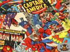 Fleece Printed Fabric Marvel COMICS 58 Wide Sold by the yard