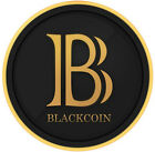 2 Blackcoin (2 BC)- Black coin cryptocurrency like Bitcoin Litecoin Dogecoin