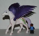 PLAYMOBIL BIG  UNICORN WITH PURPLE WING - COMPLET YOUR ANIMALS