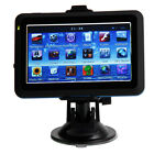 New 4.3-Inch TF4GB TF Car GPS Navigator Touch Screen Positioning System Blue Edg