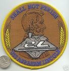 LARGE US Navy Ship Patch USS Abraham Lincoln Aircraft Carrier