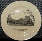1946 HOMER LAUGHLIN PLATE-BALTIMORE, MD-LUTHERAN CHURCH OF THE HOLY COMFORTER