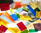 8+ POUNDS PREMIUM Stained Glass Scrap Large Pieces for Glass Art