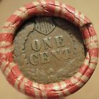 Old Estate Pennies Cent Roll with INDIAN HEADS on BOTH ends 50 Penny Coin Lot 2f