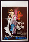 DAVID BOWIE – KIM NOVAK –Just a Gigolo–1978 Belgian Movie Poster NM-gay interest