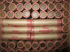 50 Wheat/Indian Head Pennies In a Shotgun Roll With An Indian Head Penny End! F8