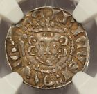 (1250-1272) Henry III silver long cross penny NGC XF-40 medieval England S-1367A