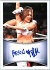 WWE Nikki Bella 2011 Topps Authentic Autograph Card Inscribed Besos!
