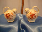 Vintage Flower Watering Pitcher Salt & Pepper Shakers 21/2