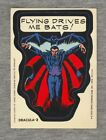 Marvel Comic Book Heroes Trading Card Sticker Topps 1975 Dracula - 2