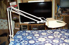 Ledu Magnifier Lamp with Extension Arm and Table Clamp