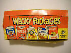 1967 WACKY PACKAGES STICKERS DISPLAY BOX TOPPS *ORIGINAL*