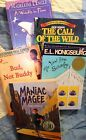 Lot of 5 Sonlight Core 100 Maniac Magee View From Saturday Bud Not Buddy
