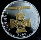 Canada 2006  ~ VICTORIA CROSS~ .9999 Silver and Gold Dollar