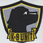 K-9 UNIT Black Lab Patch K9 canine (police/sheriff/security) Labrador Retriever