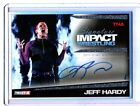 TNA Jeff Hardy 2011 Signature Impact SILVER Autograph Card SN 86 of 99