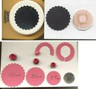 Mega Scalloped Circle 40mm Paper Punch by PB Quilling Scrapbook Cardmaking