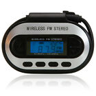 New LCD Stereo FM Transmitter Car Charger for MP3 Player iPod Touch Black
