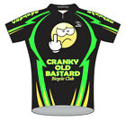 Cranky Old Bastard Bicycle Club Team Cycling Jersey Mens with Sox bike bicycle