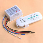 Wireless 2 Ways ON/OFF 220V Lamp Remote Control Switch Receiver Transmitter