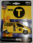 NYC New York City Taxi Cab Nissan NV200 1:43 Scale Diecast Mint on Card