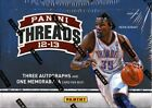 2012 13 PANINI THREADS BASKETBALL HOBBY BOX