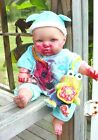16 inch zombie reborn berenguer baby doll evil halloween ooak blood toy bugs