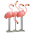 Tropical Flamingo Flock Iron Home Garden Decor Figure