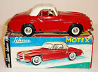 SCHUCO Germany Tin Plate Wind-up 1962-69 MERCEDES 190SL MOTEX #1088 + BOX ~ 8.5