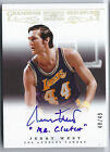 Jerry West - 2012-13 National Treasures Champions Signatures Autograph 49