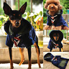 Pet Dog Clothes Teddy Chihuahua Puppy Warm Winter Hooded Cloak Coat Jacket S M L