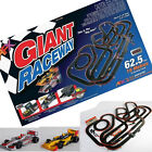 AFX Giant Raceway w/Lap Counter Tri-Power Ho Scale Slot Car Race Set 21005 62.5'