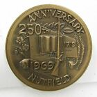 1969 Windham, NH New Hampshire 250th Anniversary Town Token Bronze Medal