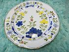 Rare Large Hand painted w Flowers, Charger Plate Deruta Signed Ceramic Italy
