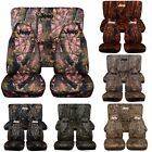 Designcovers Seat Covers Front  Rear Fit 87 02 JP Camouflage W Design