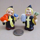 GOEBEL * LITTLE MONKS / FRIARS * Salt and Pepper Shakers * Goebel Germany * MINT