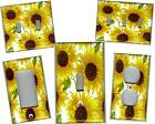 SUNFLOWERS 3 HOME DECOR LIGHT SWITCH PLATE