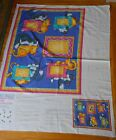 Daisy Kingdom Fabric Panel Memory Lane Meow Picture Quilt Cut Sew
