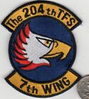 Japan Air Force 204th Tactical Fighter Squadron Patch 7th Wing JASDF F15 Okinawa