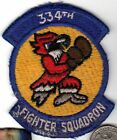 US Air Force 334th FIGHTER SQDN EAGLES Squadron Patch Eagle with Boxer Gloves