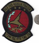 Subdued US Air Force Squadron Patch US Air Forces 82nd Tactical Fighter TNG Sqad
