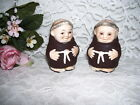 HUMMEL GOEBEL FRIAR MONK SALT AND PEPPER SHAKERS GERMANY